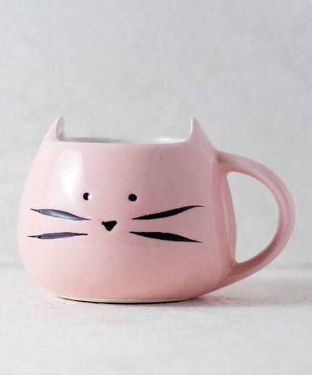 Pink Kitty Mug