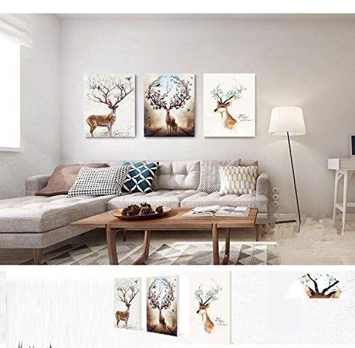 Offerta di oggi - 3x Painting Stampe su tela Stampe e quadri ...