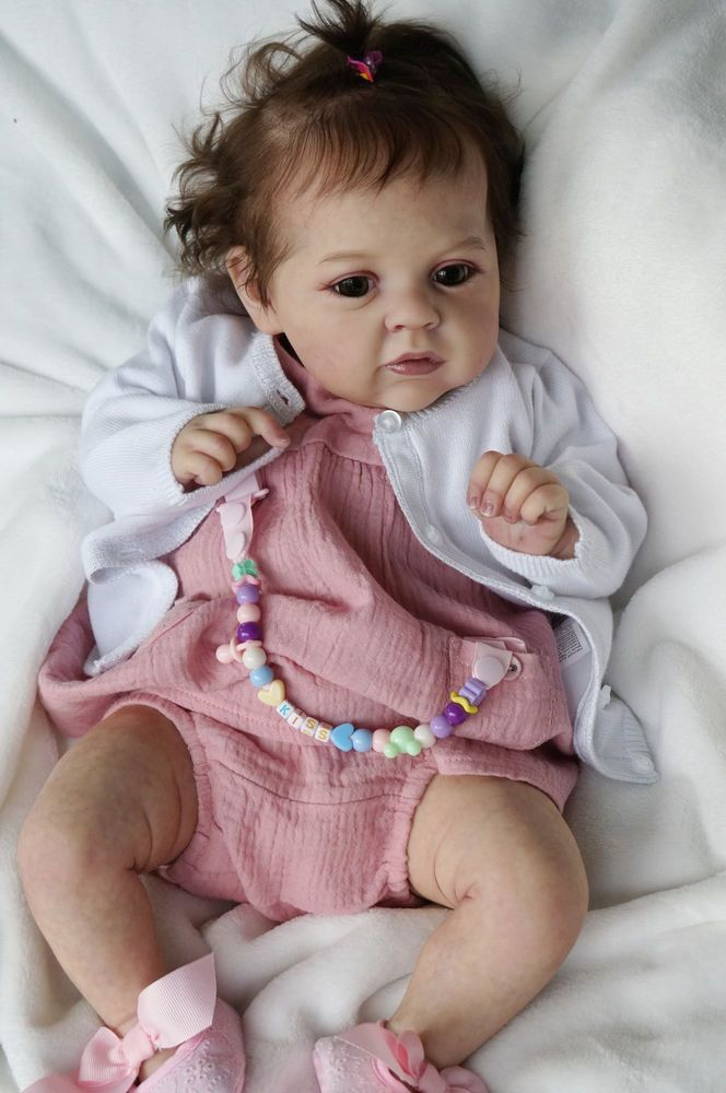 """Baby MARY_ANN by Natali Blick,realborn.22.5"""",Artist Tsybina Natalia """"Sweet bun"""" #NataliBlick"""