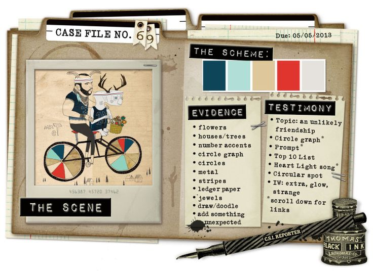 Case File No. 69 {Case closes on May 5, 2013} - CSI: Color, Stories, Inspiration