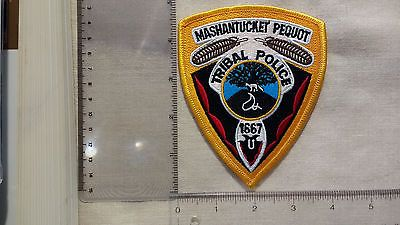 Mashantucket Pequot Tribal Police Patch