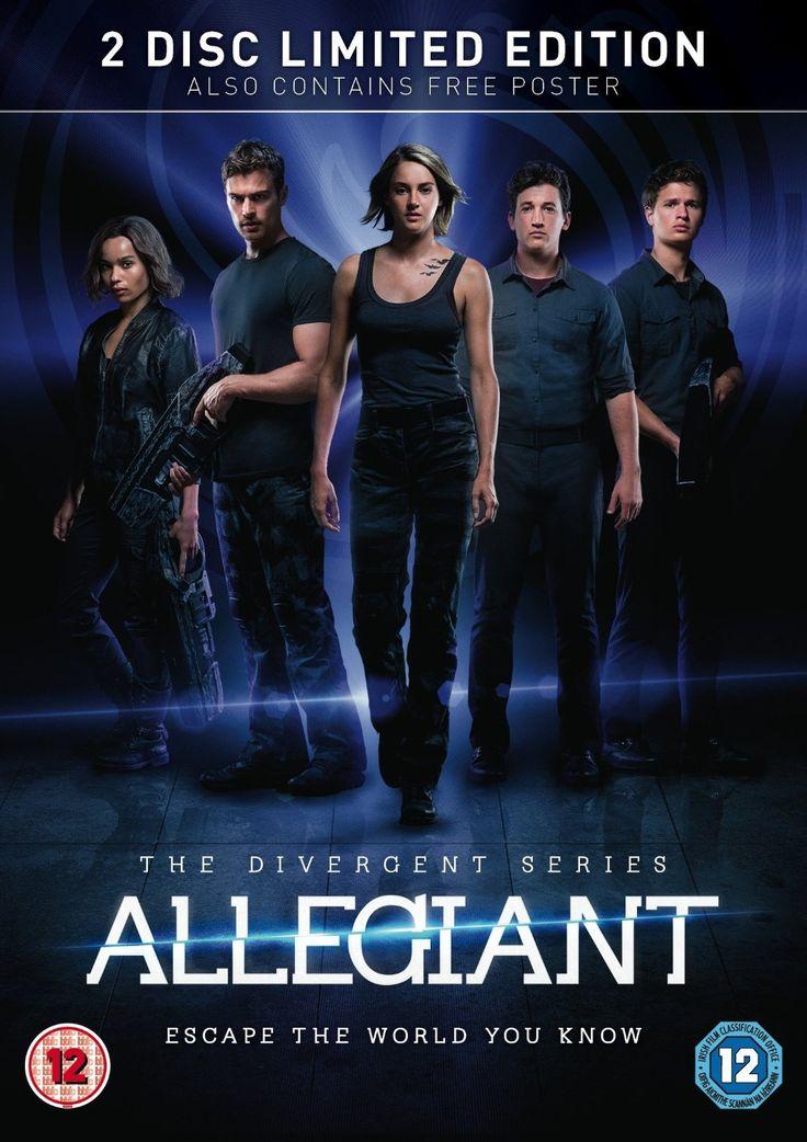 Allegiant Limited Edition - Exclusive to Amazon DVD 2016: Amazon.co.uk: Shailene Woodley, Theo James, Naomi Watts, Miles Teller, Robert Schwentke: DVD & Blu-ray