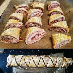 Szafi Fitt diétás pizzás croissant készítése (gluténmentes, paleo recept)