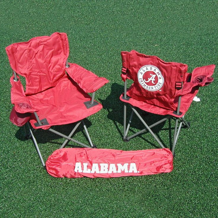 Outdoor Rivalry NCAA Collegiate Folding Junior Tailgate Chair   RV104 1200