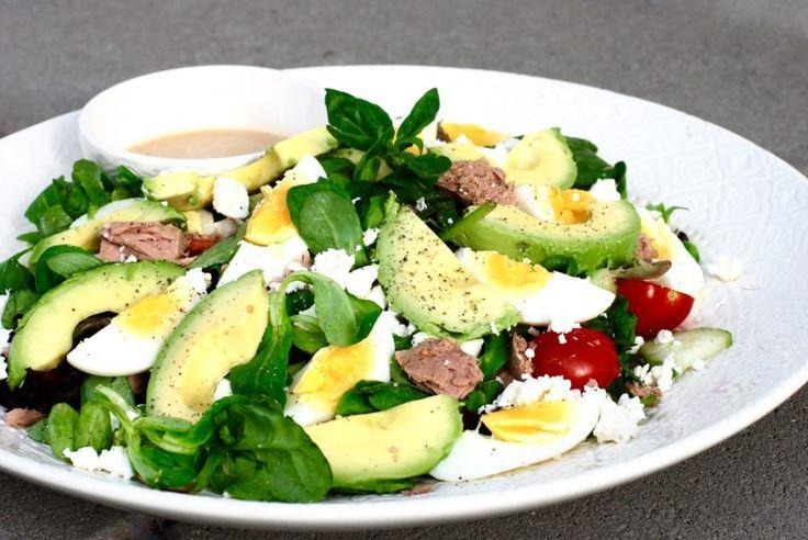 Salad Nicoise with a twist