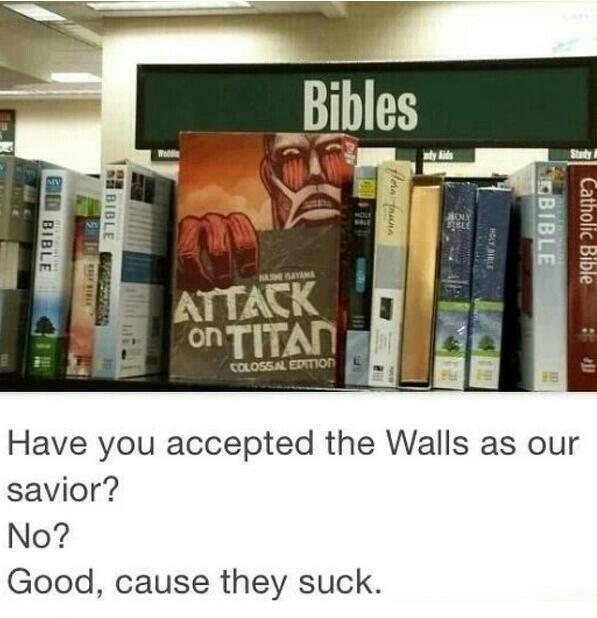 preach the word Attack on Titan