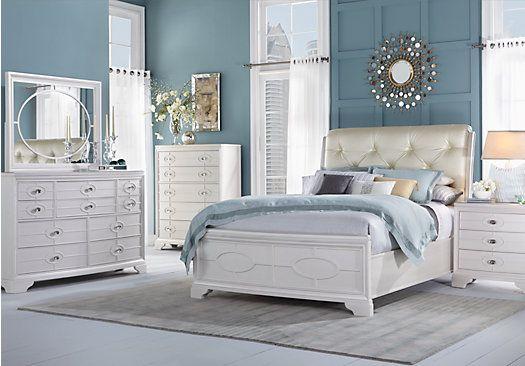 Rooms To Go White Bedroom Set | KH Design