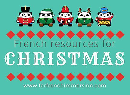 French Christmas Resources