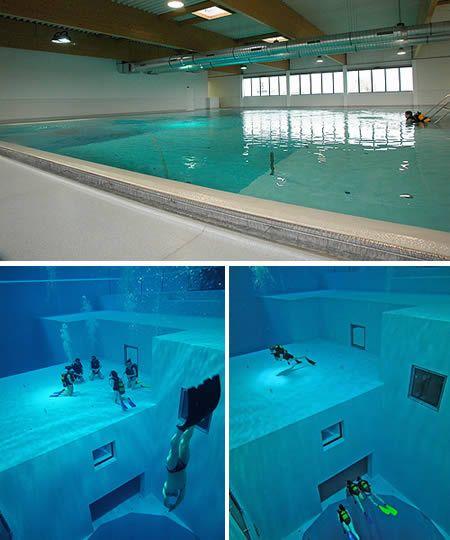 Kolam renang paling dalam didunia ini Nemo 33, pusat rekreasi scuba diving yang terletak di Uccle, Belgium adalah kolam renang terdalam di dunia. Kolam renang ini mempunyai dua dasar besar.