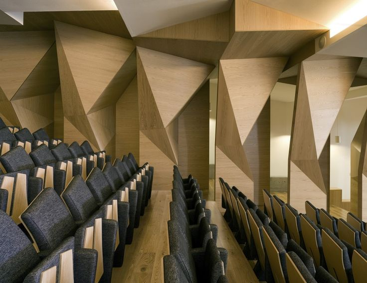 Rector Office At Vigo University Campus / EMBT