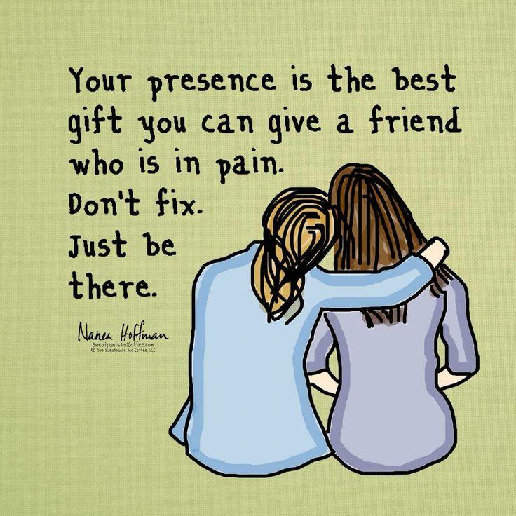 Chronic pain. Friends More
