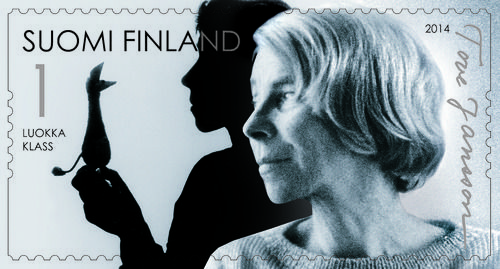 Finnish Post Office issues stamps in celebration of Tove Jansson's 100th anniversary
