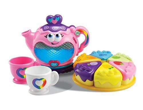 Tea Set Party Musical Rainbow Kids Pretend Play 10 Pieces LeapFrog New  #LeapFrogEnterprises
