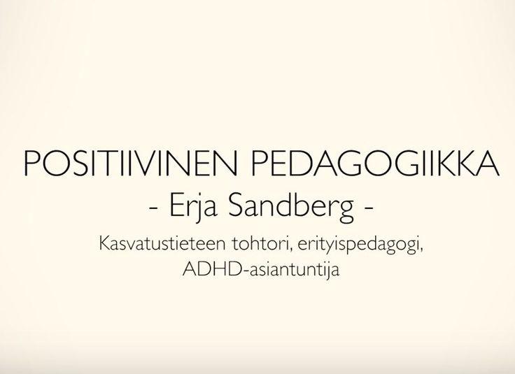 Uusi videoni positiivisesta pedagogiikasta!