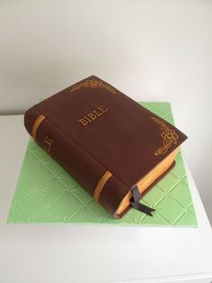 Bible Cake...you can literally feed on the Word of God! :)