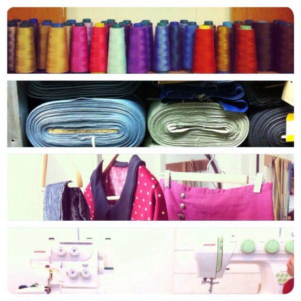 Textilera, cursos de costura y vestidos