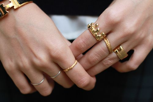 Fun fashion rings.