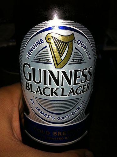 Guinness Black Lager | Flickr - Photo Sharing!