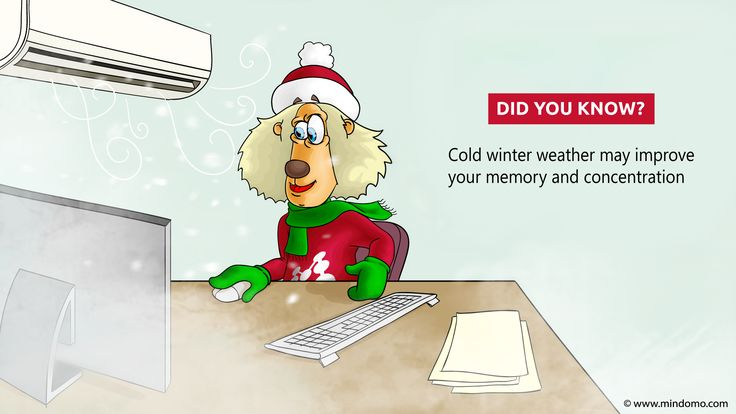Ladies and gents, turn your AC on to boost #memorization! Do wear extra clothing, though! :)