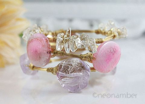 Lilacs and Pinks – Neonamber Jewels