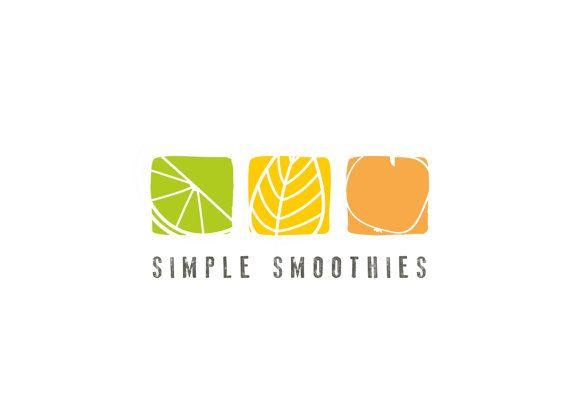 PREMADE LOGO//Food logo// Fruit logo// Organic by MillyBoutique