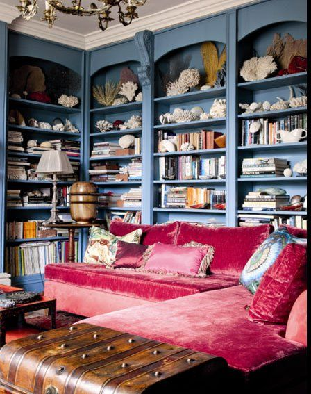 my future home better have a library this amazing
