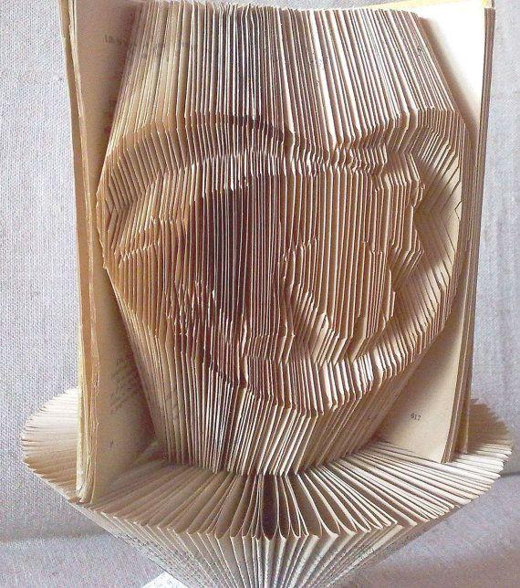 Book folding pattern and FREE Tutorial - Horse with hand in Heart - folded book art, origami, gift #bookfolding #bookfoldingpattern #foldedbookart #booksculpture #papersculpturebook #origamibook #weddinggift #weddinganniversary #birthdaygift #patterntutorial #recycledbook #homedecor #lovegift #motherdaygift #craft #gift #chinesezodiac by #PatternsStore