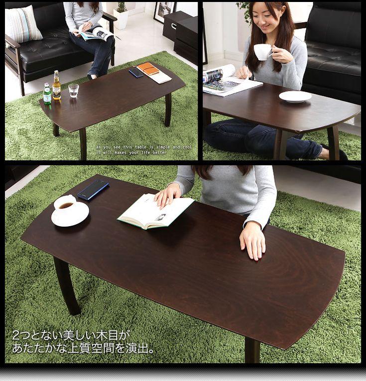 7,990 【楽天市場】ローテーブル テーブル 折りたたみ 折りたたみテーブル 木製 座卓 センターテーブル コーヒーテーブル フリーテーブル ちゃぶ台 フォールディングテーブル 折れ脚テーブル リビングテーブル ブラウン 新生活:インテリア家具のララスタイル