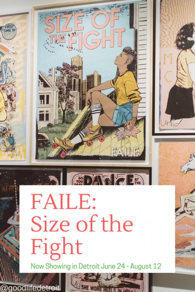 Good Life Detroit | FAILE: Size of the Fight Now Showing (June 24 – August 12) | http://goodlifedetroit.com