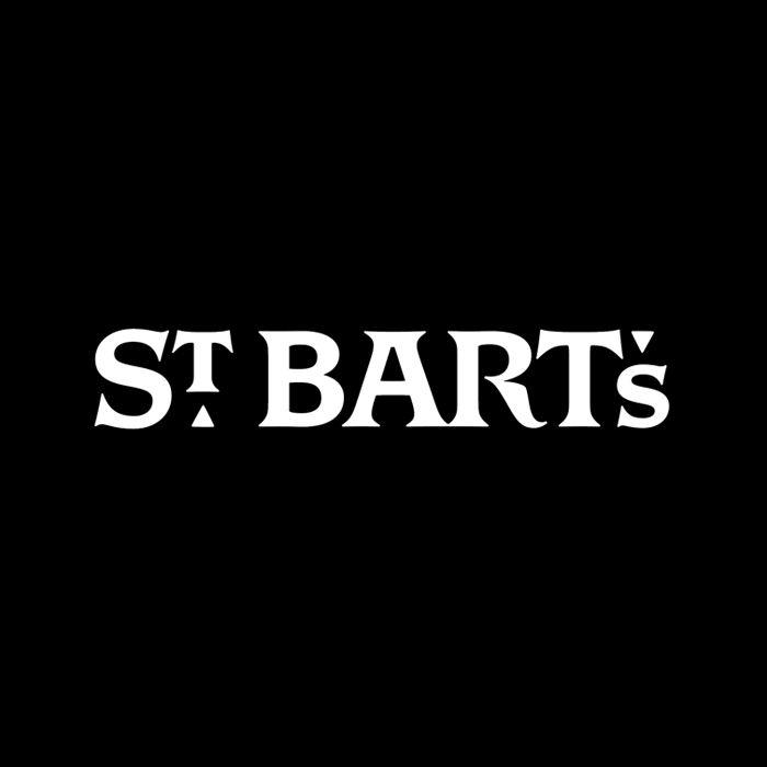 St Bart's by OCD. #logotype #branding #typography