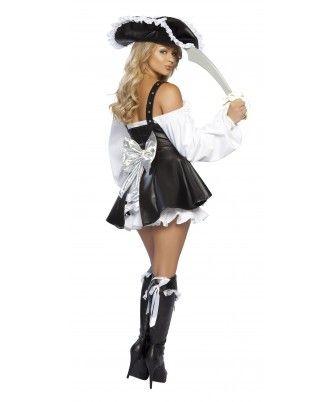 roxanni halloween costume womenu0027s 4pc pirate maiden by roma