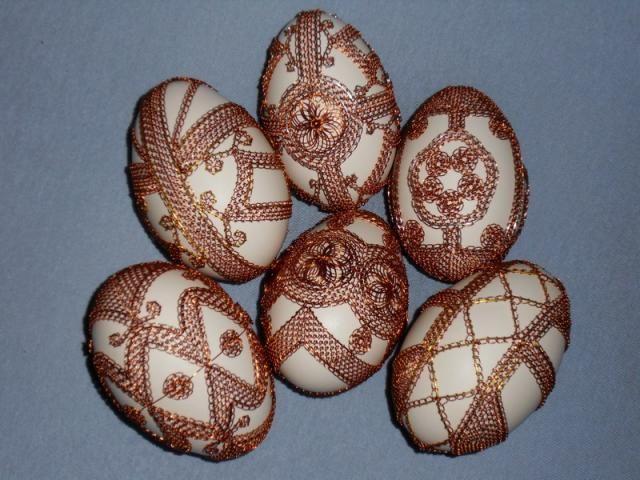 Husacie vajcia -  stappled eggs