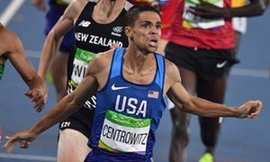 Matt Centrowitz becomes the first American since 1908 to win the men's 1500m in one of the slowest & most ridiculously run 1.5 kms in Olympic history