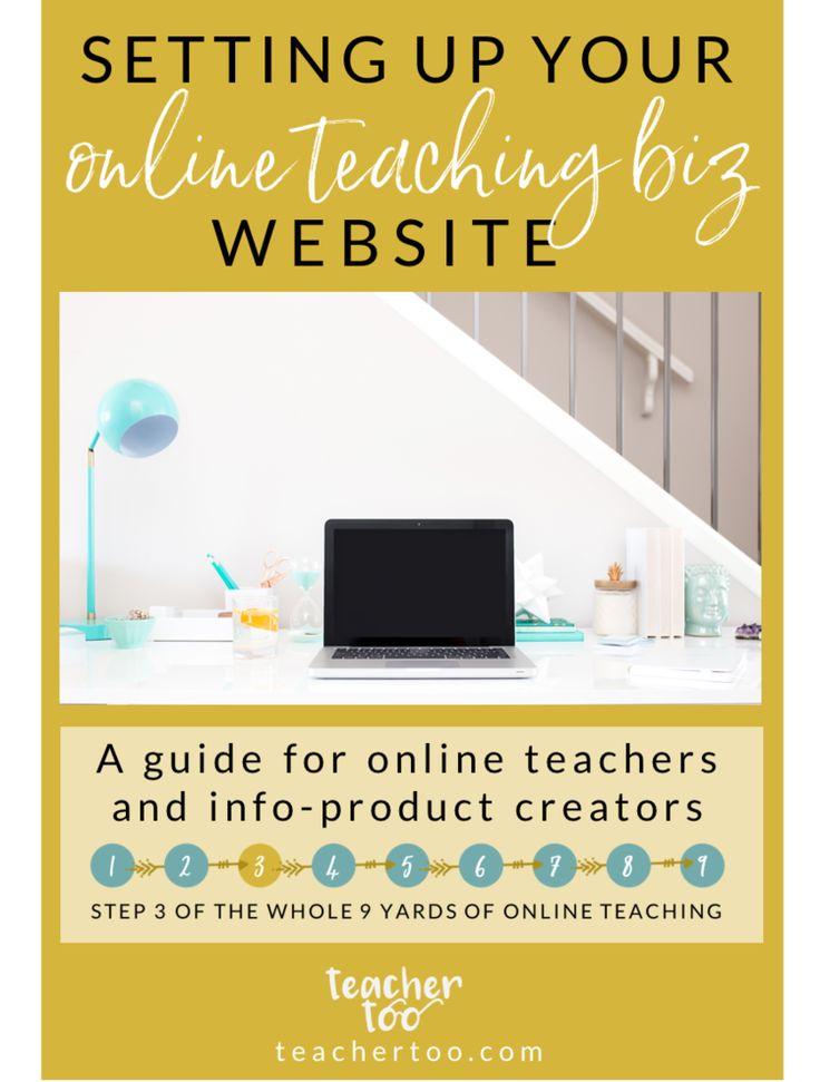 Website building for online teachers and e-course creators. Online Course Creation | E-course Creation | Online Teachers | Online Teaching