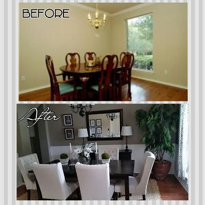 DIYife: Dining Room Makeover on a BUDGET