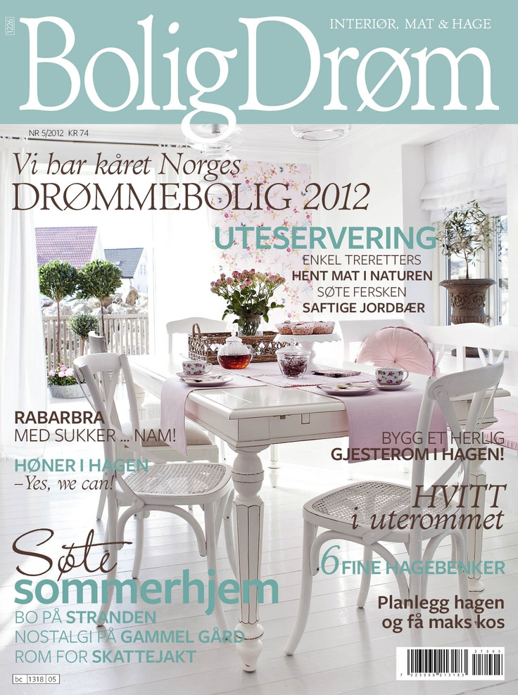 Cover til BoligDrøm nr 5 / 2012