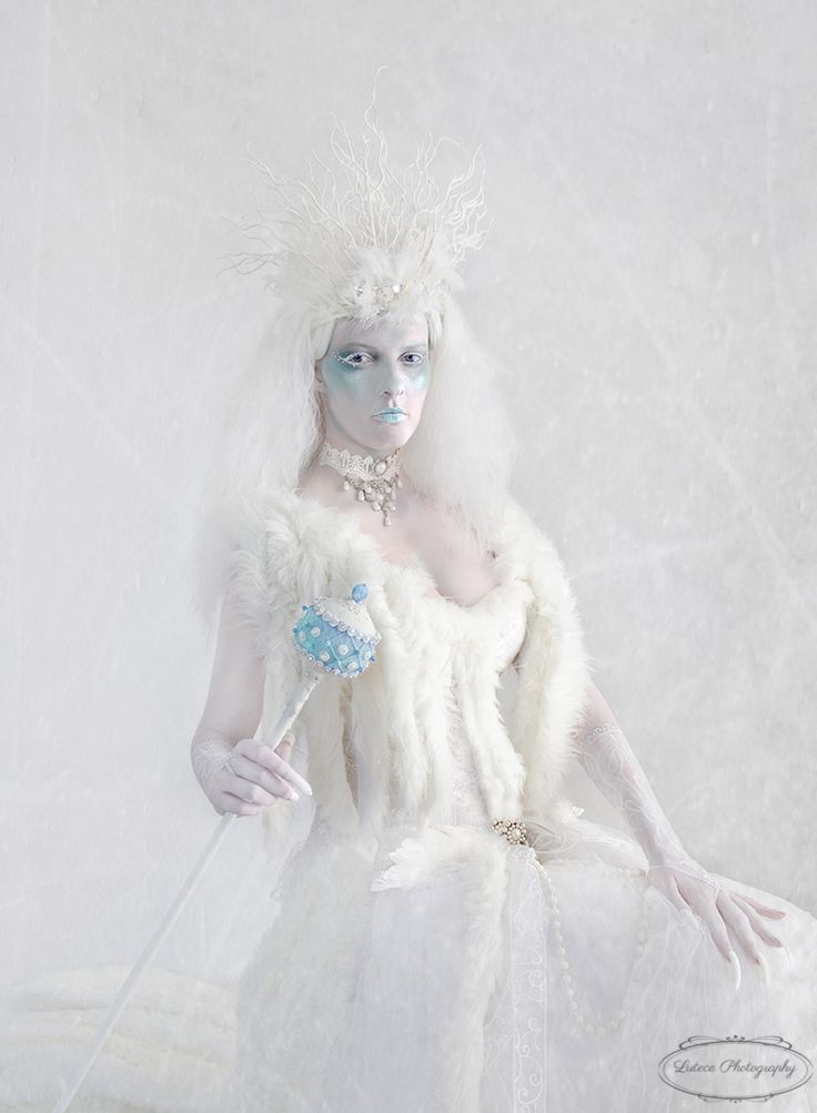 Beautiful strong portrait of my Snow Queen. I designed the costume and made the sceptre as well. One of my favourite photo shoots.  http://www.lutecephotography.co.nz/site/#/home/