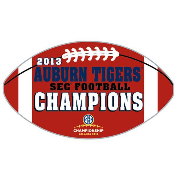 Auburn Tigers 2013 SEC Football Champions Collector Pin - $7.99