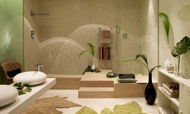 Un Baño Inspirado en la Naturaleza - Para Más Información Ingresa en: http://disenodebanos.com/un-bano-inspirador-en-la-naturaleza/