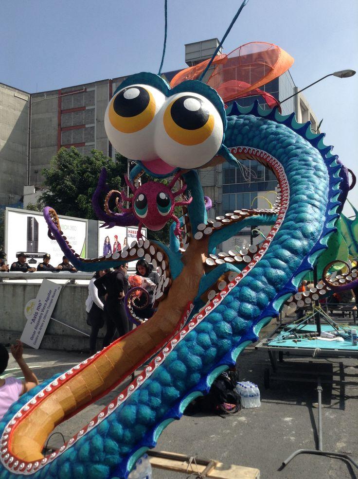 7mo Concurso y Desfile de Alebrijes Monumentales del Museo de Arte Popular, México D.F.
