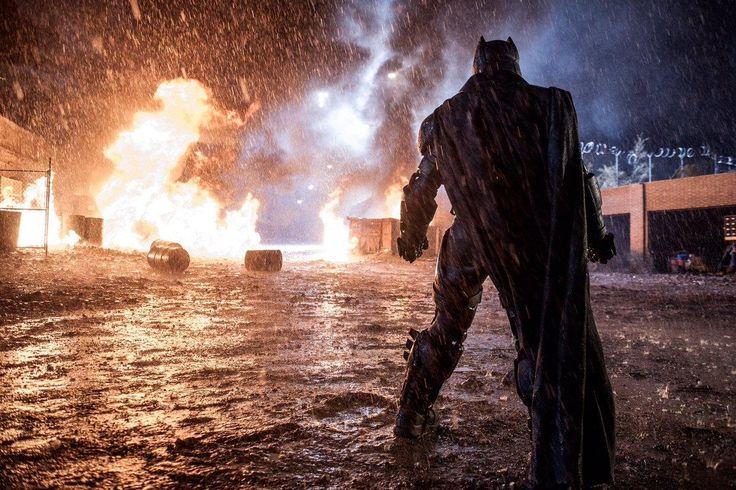 Batman vs Superman - Liberada nova imagem incrível das gravações do filme! - Legião dos Heróis