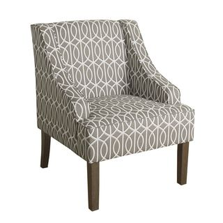 Shop for HomePop Finely Swoop Arm Accent Chair. Get free shipping at Overstock.com - Your Online Furniture Outlet Store! Get 5% in rewards with Club O!