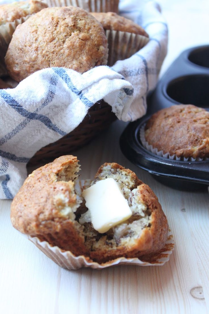 I have such fond memories of these muffins from when I was a child. My mom has a recipe book called Muffin Mania  (it was published in 1982,...