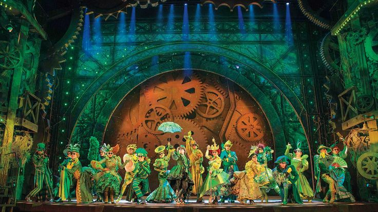 Image result for wicked emerald city