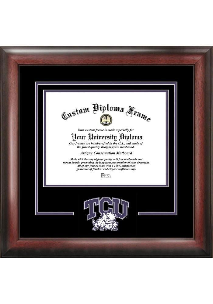 TCU Horned Frogs Diploma Picture Frame