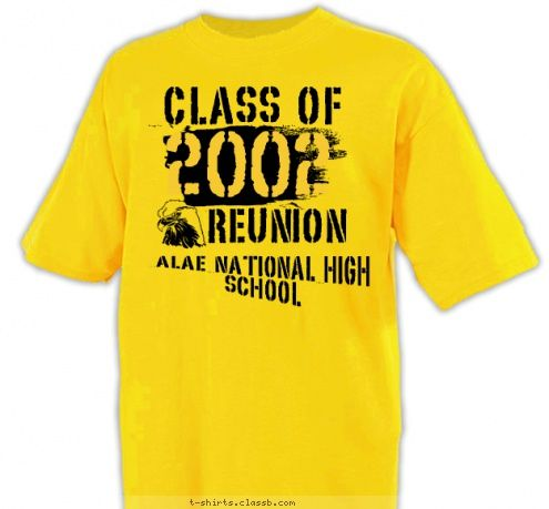 high school reunion shirt designs custom t shirt design