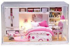Hágalo usted mismo Artesanía En Miniatura Casa De Muñecas-cubierta y Casa de Muñecas Luz-Reino Unido stock Rápido Post