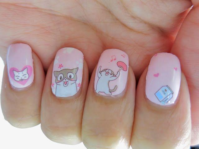Uñas decoradas con gatos que vas a querer tener - Cute cat nails