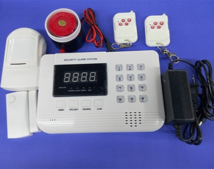 61.58$  Buy here - http://aie9k.worlditems.win/all/product.php?id=32590674289 - Dual Band GSM + PSTN 433Mhz Wireless Alarm System