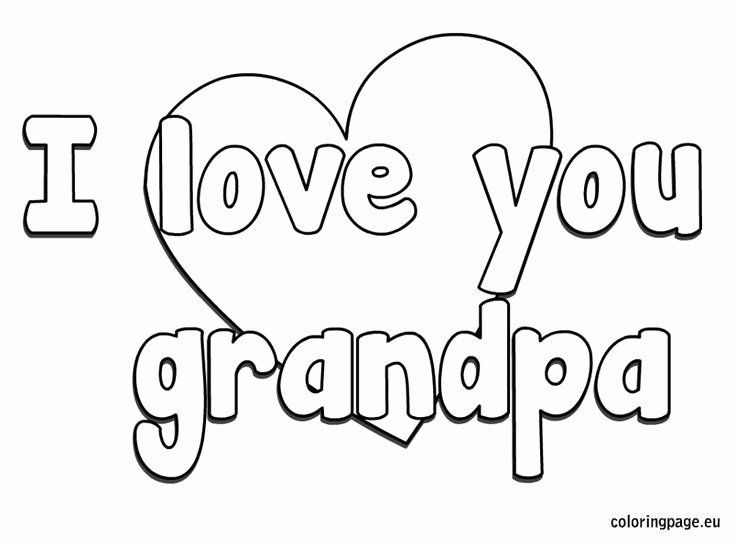 Happy Birthday Grandpa Coloring Page Unique 20 Best Grandparent S Day Images On Pinte In 2020 Mothers Day Coloring Pages Birthday Coloring Pages Happy Birthday Grandpa